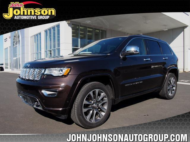 2017 jeep grand cherokee overland 4x4 overland 4dr suv for sale in washington new jersey. Black Bedroom Furniture Sets. Home Design Ideas