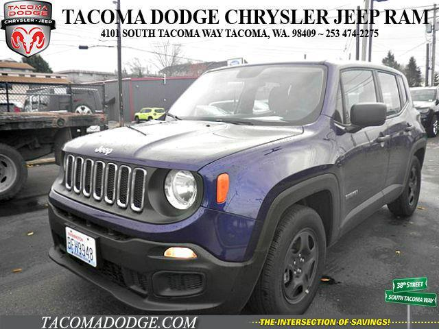 2017 jeep renegade sport sport 4dr suv for sale in tacoma washington classified. Black Bedroom Furniture Sets. Home Design Ideas