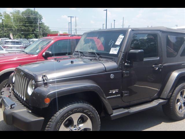 2017 jeep wrangler sahara 4x4 sahara 2dr suv for sale in jackson georgia classified. Black Bedroom Furniture Sets. Home Design Ideas