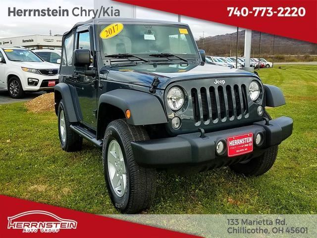 2017 jeep wrangler sport 4x4 sport 2dr suv for sale in chillicothe ohio classified. Black Bedroom Furniture Sets. Home Design Ideas