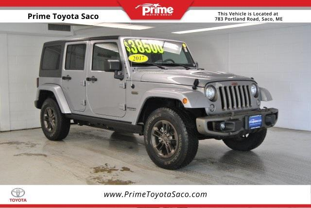 2017 jeep wrangler unlimited sahara 4x4 sahara 4dr suv for sale in saco maine classified. Black Bedroom Furniture Sets. Home Design Ideas