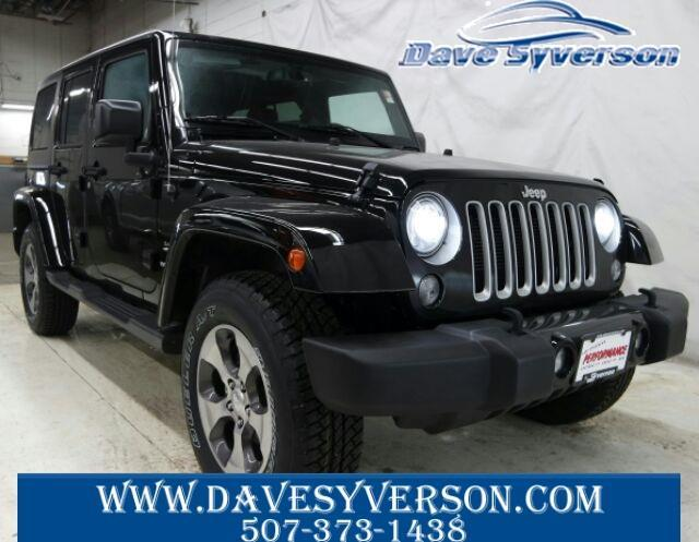 2017 jeep wrangler unlimited sahara 4x4 sahara 4dr suv for sale in albert lea minnesota. Black Bedroom Furniture Sets. Home Design Ideas