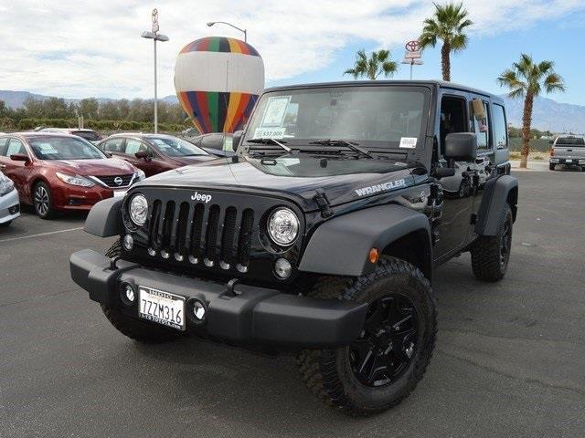 2017 jeep wrangler unlimited sport 4x4 sport 4dr suv for sale in indio california classified. Black Bedroom Furniture Sets. Home Design Ideas
