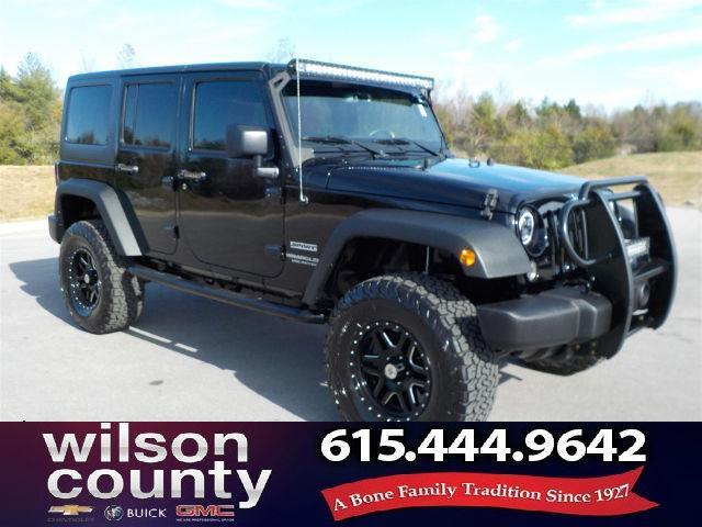 2017 Jeep Wrangler Unlimited Sport 4x4 Sport 4dr SUV