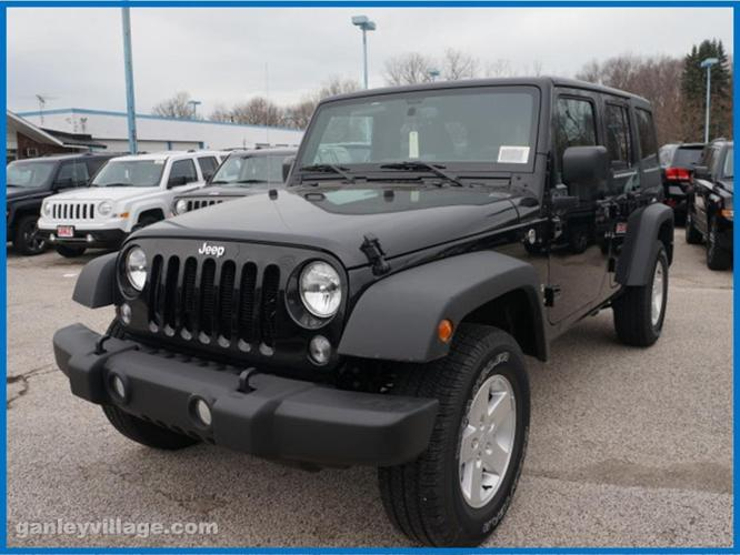 2017 jeep wrangler unlimited sport 4x4 sport 4dr suv for sale in concord ohio classified. Black Bedroom Furniture Sets. Home Design Ideas