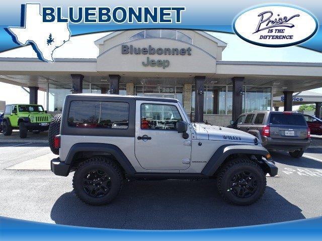2017 Jeep Wrangler Willys Wheeler 4x4 Willys Wheeler