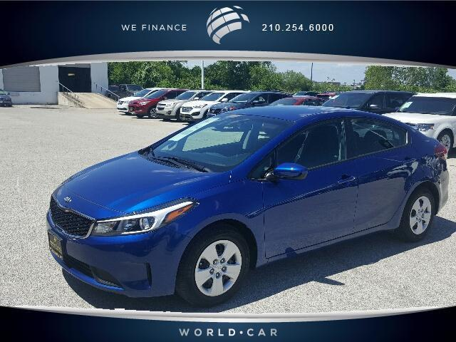 2017 kia forte lx lx 4dr sedan 6a for sale in san antonio. Black Bedroom Furniture Sets. Home Design Ideas