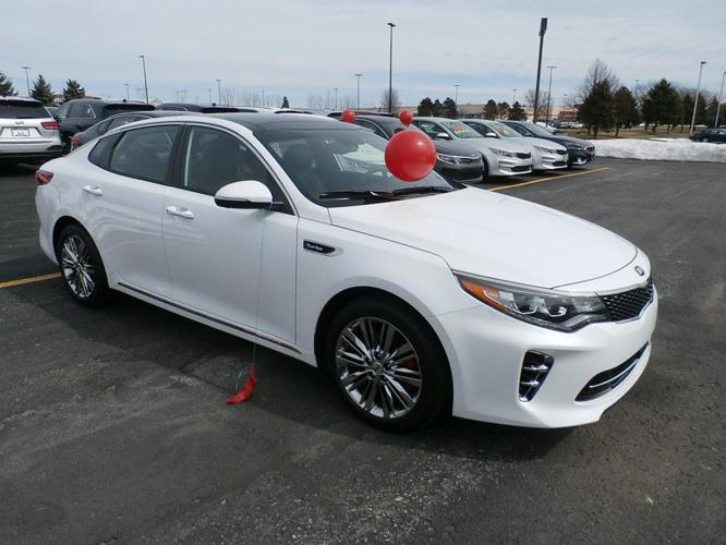 Kia Optima Turbo Sxl 2017 Kia Optima Sxl Turbo Sxl Turbo