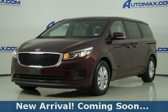2017 kia sedona lx lx 4dr mini van for sale in killeen. Black Bedroom Furniture Sets. Home Design Ideas