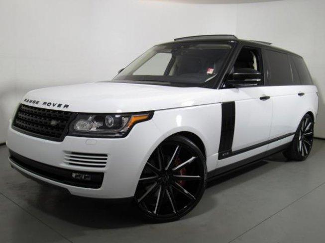 2017 Land Rover Range Long Wheelbase Supercharged For In Cary North Carolina