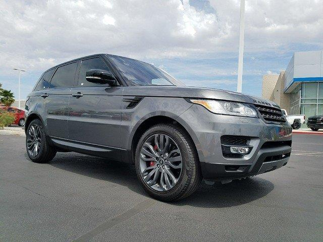 2017 land rover range rover sport supercharged awd supercharged 4dr suv for sale in las vegas. Black Bedroom Furniture Sets. Home Design Ideas
