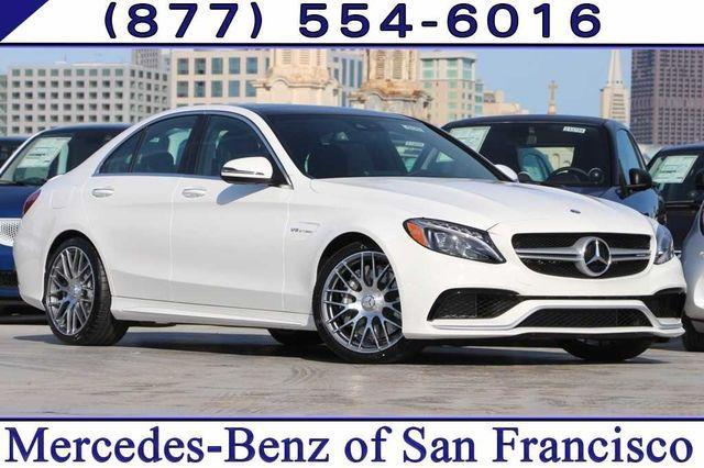 2017 Mercedes-Benz C-Class AMG C 63 AMG C 63 4dr Sedan
