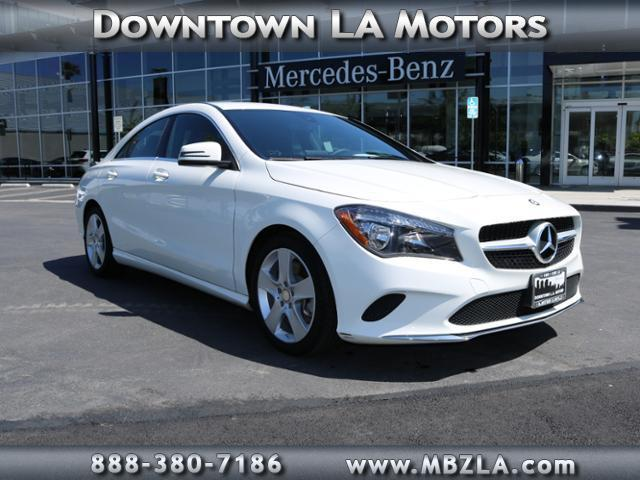 2017 mercedes benz cla cla 250 cla 250 4dr sedan for sale for Downtown la motors mercedes benz