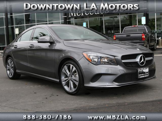 2017 mercedes benz cla cla 250 cla 250 4dr sedan for sale for Downtown la motors mercedes benz