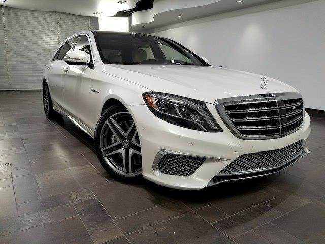 2017 Mercedes-Benz S-Class AMG S 65 AMG S 65 4dr Sedan