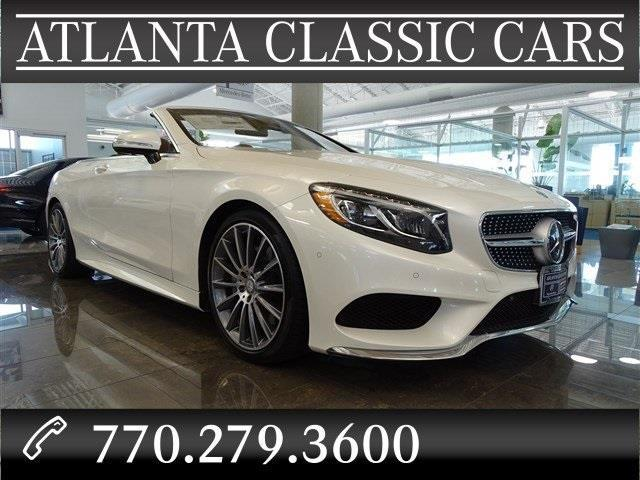 2017 mercedes benz s class s 550 s 550 2dr convertible for for Mercedes benz of duluth