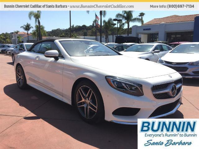 2017 Mercedes Benz S Class S 550 S 550 2dr Convertible For