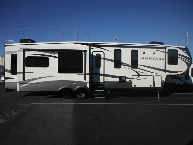 2017 montana 3950br 5th wheel bonus room for sale in sun for Fifth wheel with bonus room