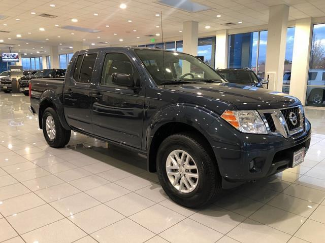 2017 Nissan Frontier S 4x4 S 4dr Crew Cab 5 ft. SB 5A