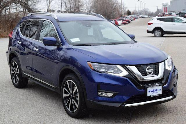 2017 Nissan Rogue SL AWD SL 4dr Crossover