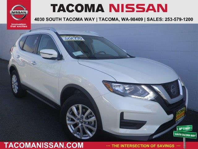 2017 Nissan Rogue SV AWD SV 4dr Crossover