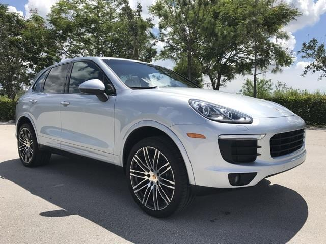 2017 porsche cayenne base awd 4dr suv for sale in pompano beach florida classified. Black Bedroom Furniture Sets. Home Design Ideas