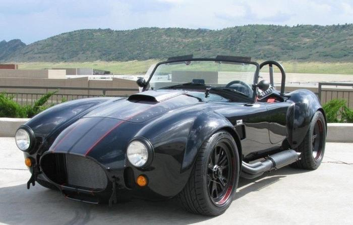 2017 Shelby Backdraft Roadster RT3 Black