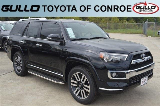 2017 toyota 4runner limited black. Black Bedroom Furniture Sets. Home Design Ideas