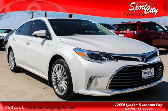 2017 toyota avalon limited limited 4dr sedan for sale in dallas texas classified. Black Bedroom Furniture Sets. Home Design Ideas
