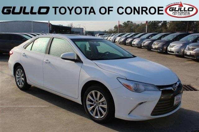 2017 toyota camry le le 4dr sedan for sale in conroe. Black Bedroom Furniture Sets. Home Design Ideas