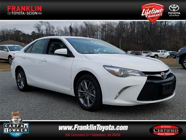 2017 toyota camry se se 4dr sedan for sale in statesboro georgia classified. Black Bedroom Furniture Sets. Home Design Ideas