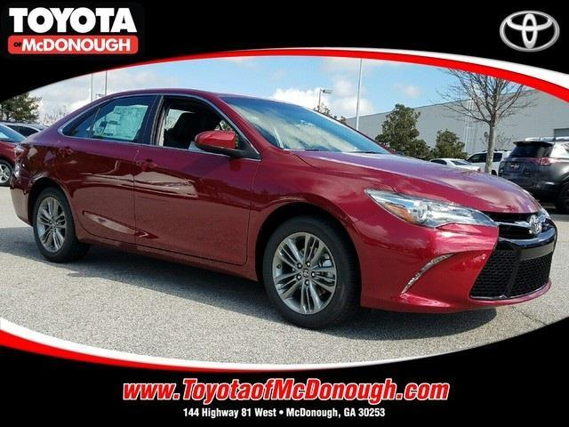 2017 toyota camry se se 4dr sedan for sale in mcdonough georgia classified. Black Bedroom Furniture Sets. Home Design Ideas