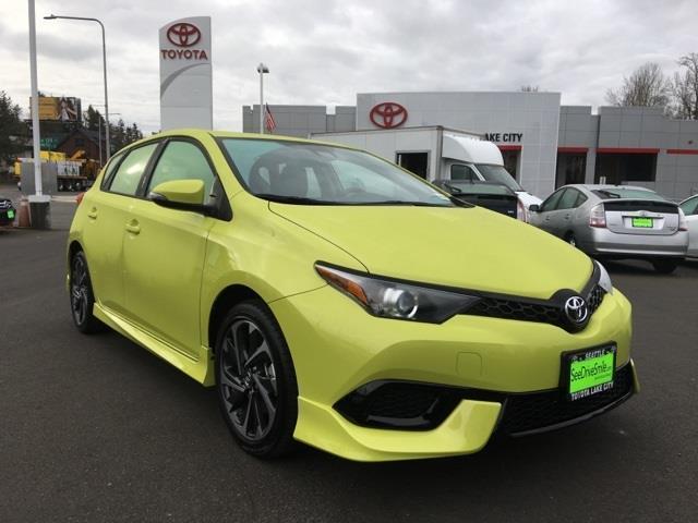 2017 Toyota Corolla iM Base 4dr Hatchback CVT