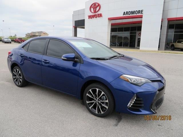 2017 toyota corolla xle xle 4dr sedan for sale in ardmore. Black Bedroom Furniture Sets. Home Design Ideas