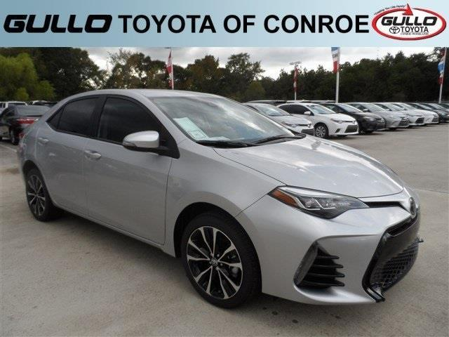 2017 toyota corolla xse xse 4dr sedan for sale in conroe texas classified. Black Bedroom Furniture Sets. Home Design Ideas