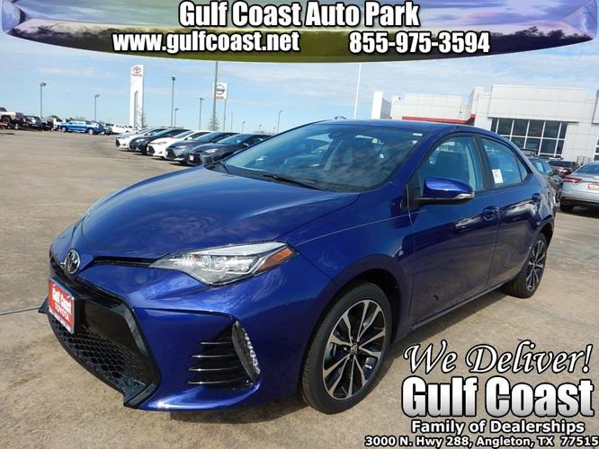 2017 toyota corolla xse xse 4dr sedan for sale in anchor texas classified. Black Bedroom Furniture Sets. Home Design Ideas