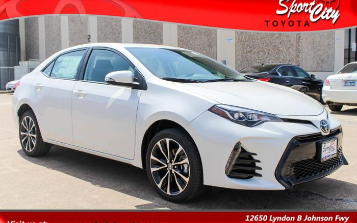 2017 toyota corolla xse xse 4dr sedan for sale in dallas texas classified. Black Bedroom Furniture Sets. Home Design Ideas