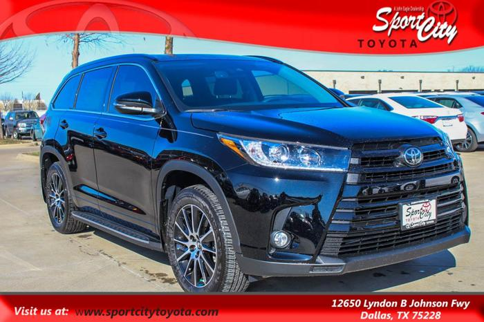 2017 toyota highlander se awd se 4dr suv for sale in dallas texas classified. Black Bedroom Furniture Sets. Home Design Ideas