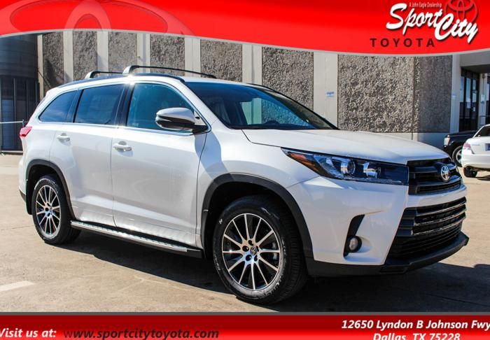 2017 toyota highlander se se 4dr suv for sale in dallas texas classified. Black Bedroom Furniture Sets. Home Design Ideas