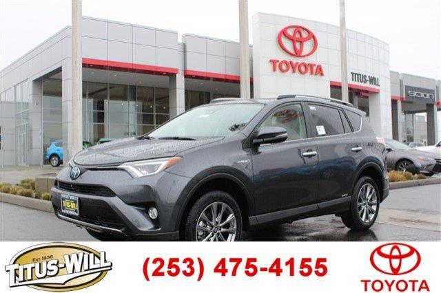 2017 toyota rav4 hybrid limited awd limited 4dr suv for sale in tacoma washington classified. Black Bedroom Furniture Sets. Home Design Ideas