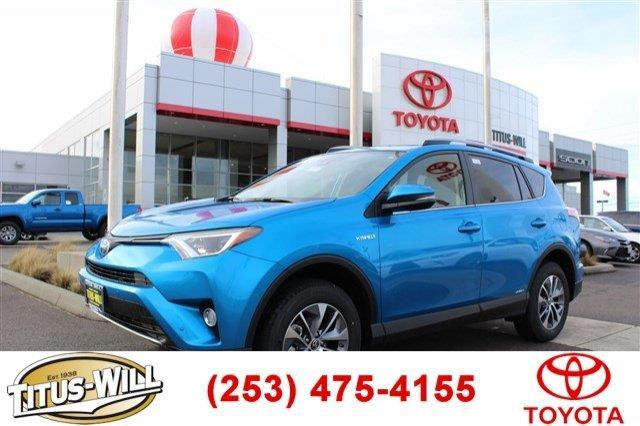 2017 toyota rav4 hybrid xle awd xle 4dr suv for sale in tacoma washington classified. Black Bedroom Furniture Sets. Home Design Ideas
