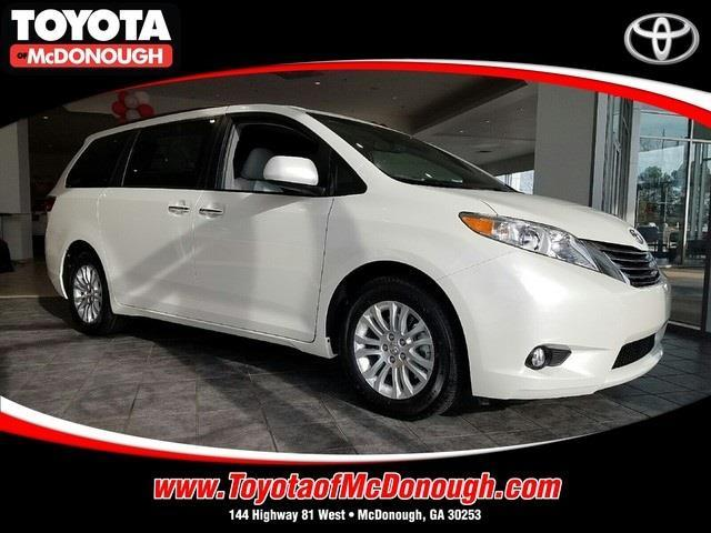 2017 toyota sienna limited 7 passenger limited 7 passenger 4dr mini van for sale in mcdonough. Black Bedroom Furniture Sets. Home Design Ideas