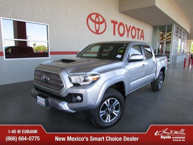 2017 toyota tacoma trd sport 4x4 trd sport 4dr double cab 5 0 ft sb 6a for sale in albuquerque. Black Bedroom Furniture Sets. Home Design Ideas