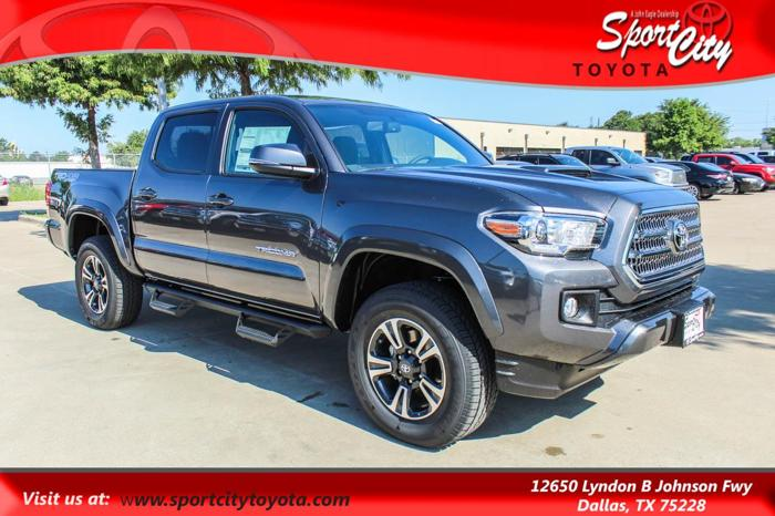 2017 toyota tacoma trd sport 4x4 trd sport 4dr double cab 5 0 ft sb 6m for sale in dallas texas. Black Bedroom Furniture Sets. Home Design Ideas