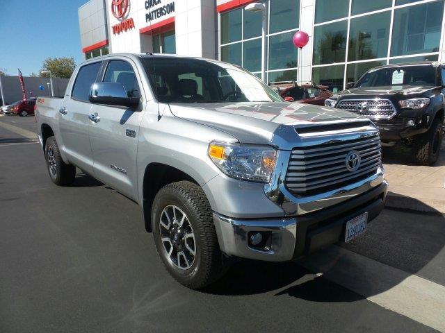 2017 Toyota Tundra Limited 4x4 Limited 4dr CrewMax Cab