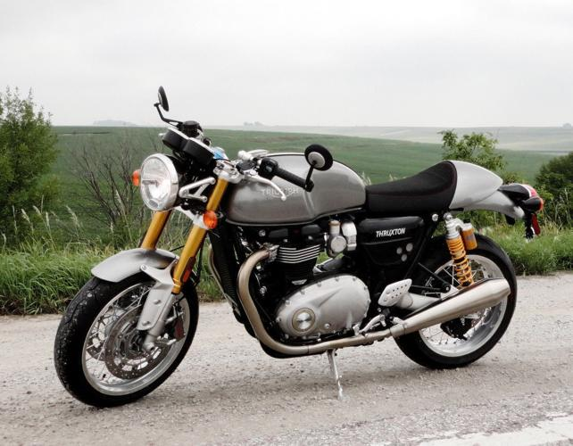 2017 triumph thruxton r for sale in apple valley california classified. Black Bedroom Furniture Sets. Home Design Ideas