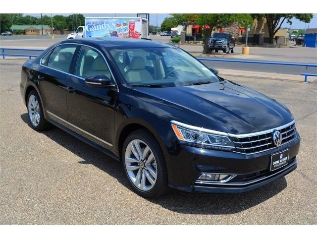 2017 volkswagen passat v6 sel premium v6 sel premium 4dr sedan for sale in lubbock texas. Black Bedroom Furniture Sets. Home Design Ideas