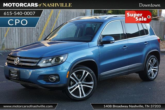 2017 Volkswagen Tiguan 2.0T SEL 4Motion AWD 2.0T SEL