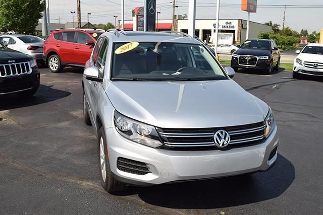 2017 Volkswagen Tiguan 2.0T Wolfsburg Edition 2.0T Wolfsburg Edition 4dr SUV for Sale in ...