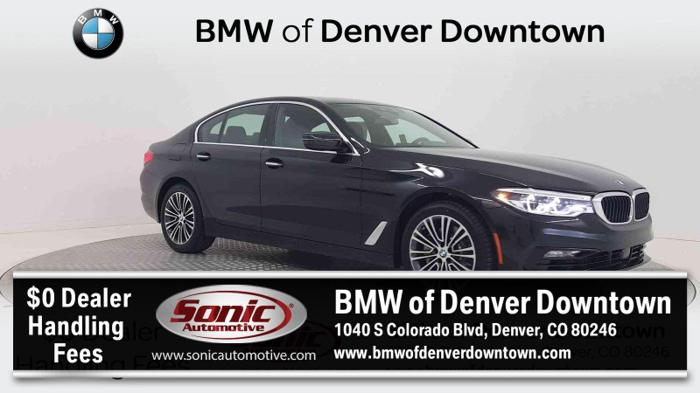 2018 BMW 5 Series 530i xDrive AWD 530i xDrive 4dr Sedan